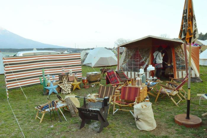 アメリカンヴィンテージなキャンプサイト