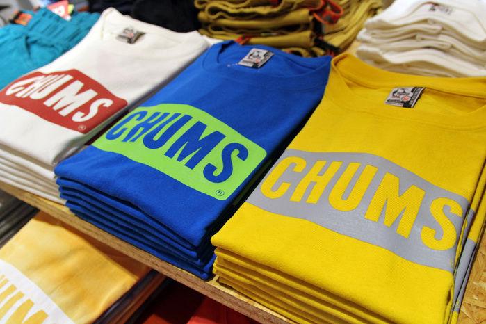 チャムスのTシャツ