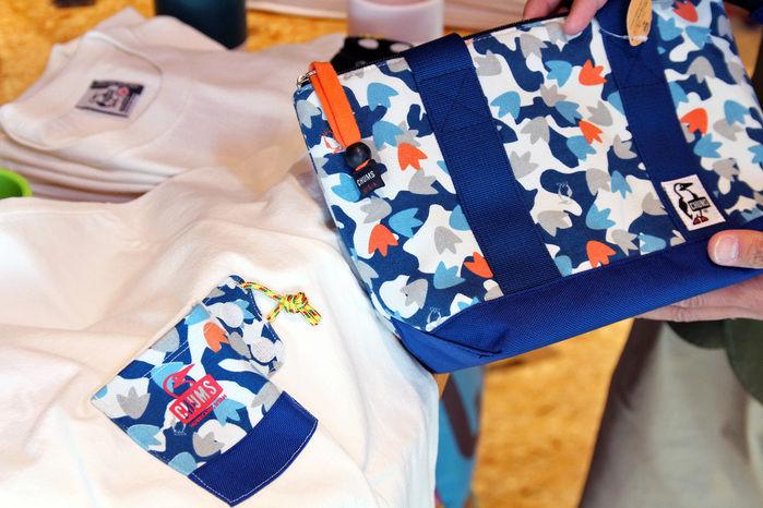 チャムスのTシャツとバッグ