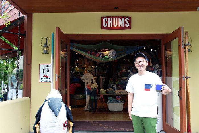 チャムス表参道店の外観