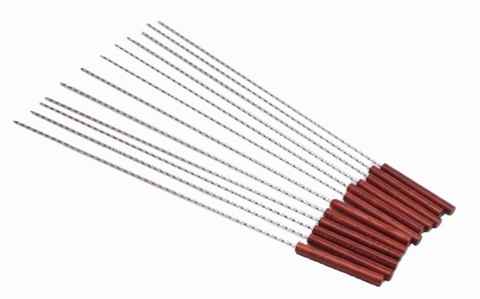 ステンレス製の鉄串
