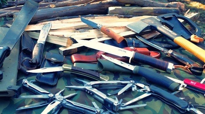 様々なナイフ