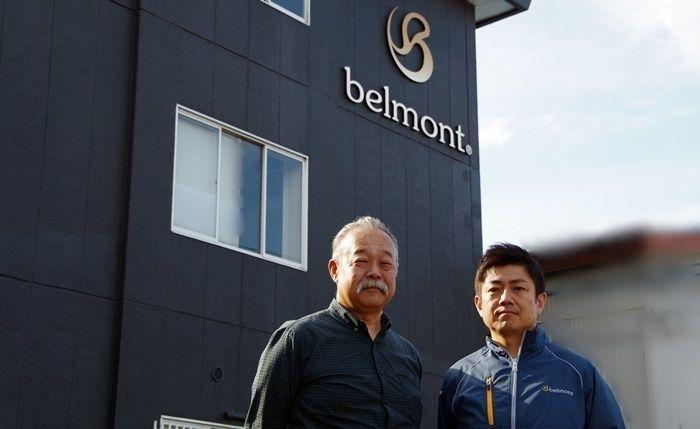 ベルモントの社長と従業員