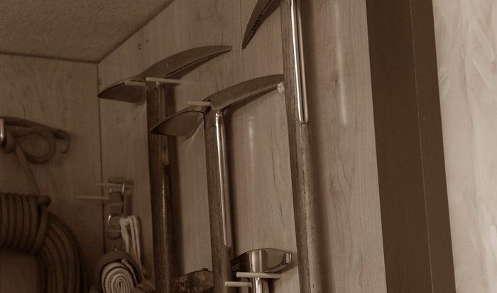 ベルモントの山岳で使われる道具