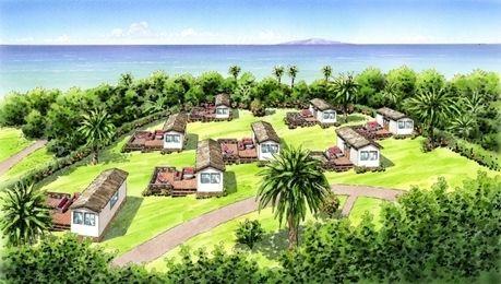 初島アイランドリゾートのグランピング施設