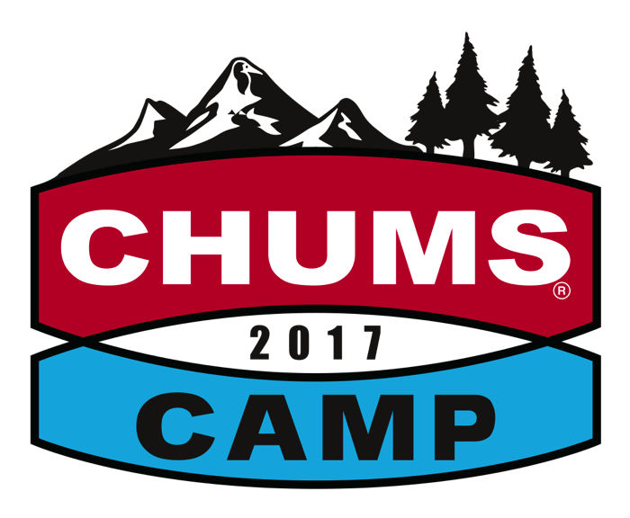 CHUMS CAMP2017のロゴ