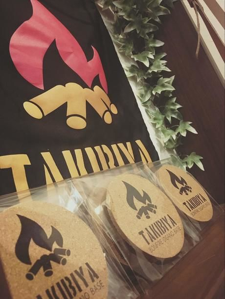 TAKIBIYAのオリジナルコースター