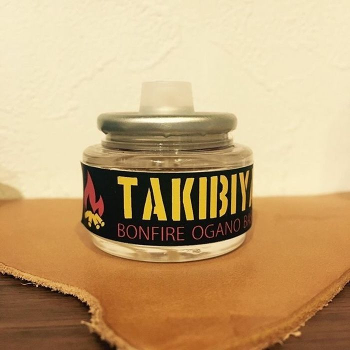 TAKIBIYAのリキッドキャンドルボトル