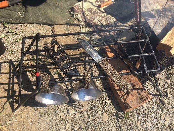 TAKIBIYAの販売予定の焚き火テーブル