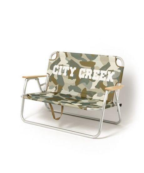 ニコアンド×コールマンのコラボギア、オリジナル CITY CREEK 2シーターベンチ