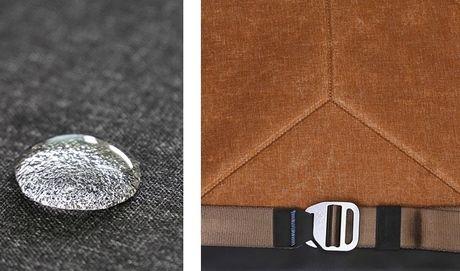 peak designのエブリデイ・メッセンジャーバッグの防水性