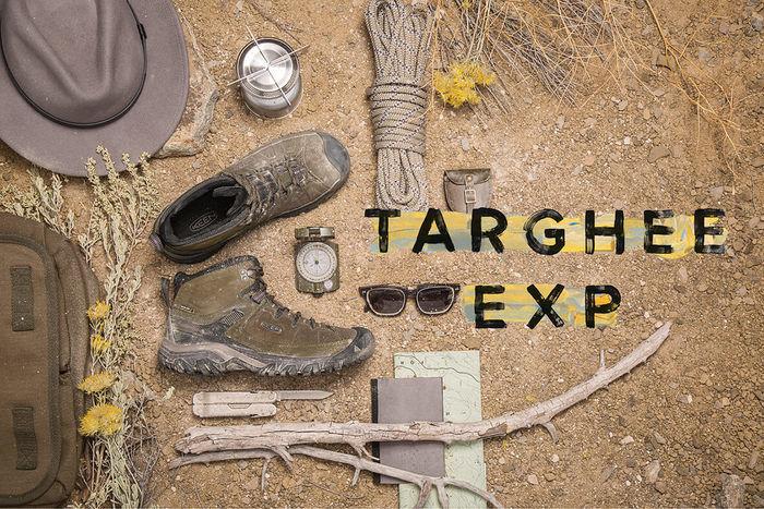 キーンのシューズ、TARGHEE EXP WP