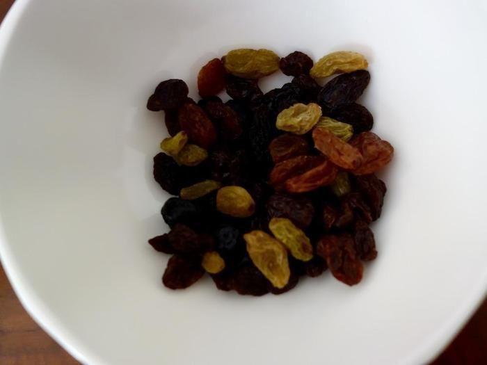 トレイル・ミックスの果物