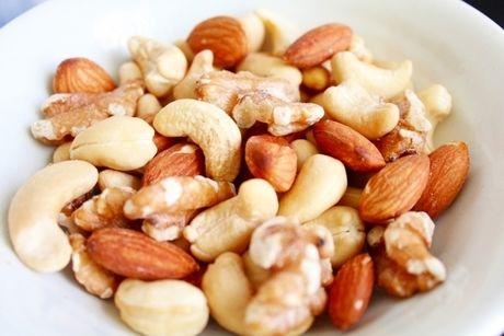 トレイル・ミックスのナッツ