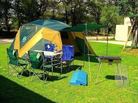 ネイチャーみらい館キャンプ場のキャンプサイト