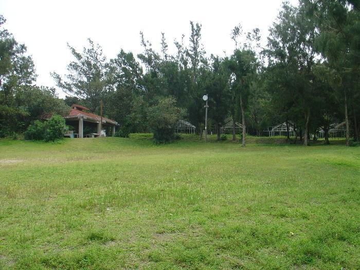 渡嘉敷村青少年旅行村キャンプ場のキャンプサイト