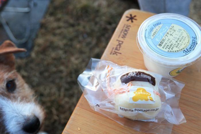 牧場で買ったチーズ