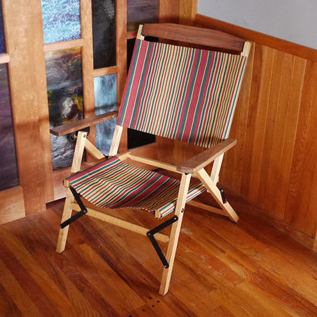 OUTSIDE INのTabi KachaKacha Mid Chair STR.1 Classic Stripe
