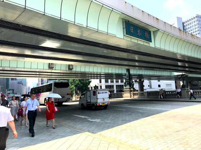 東京マラソンコースの日本橋