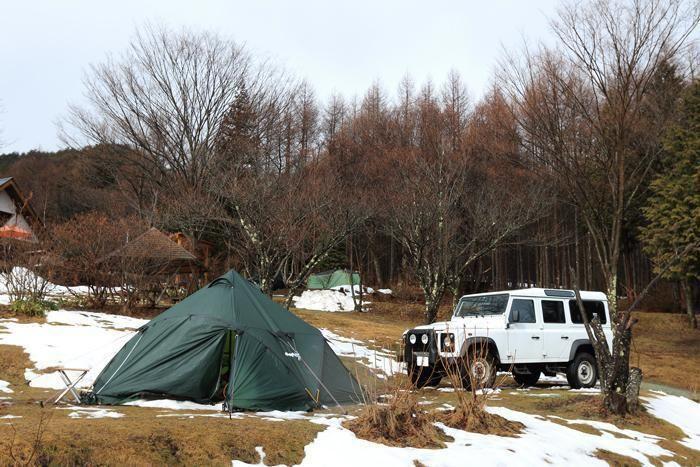 ミヤシタヒルズのキャンプサイト