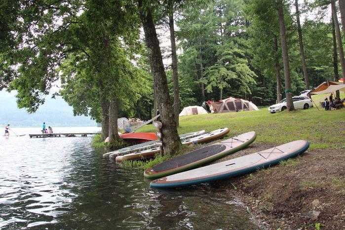 ライジングフィールド白馬の湖とボード