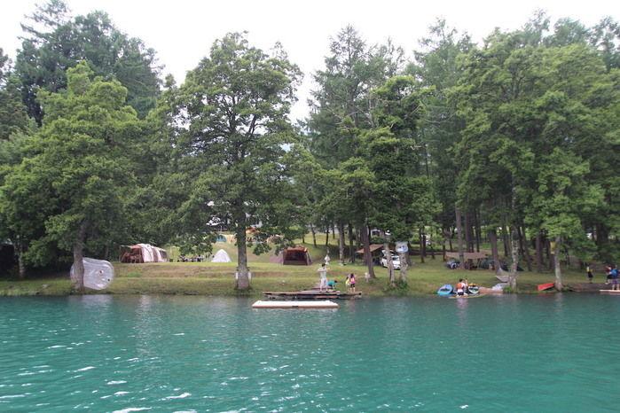 ライジングフィールド白馬の青木湖
