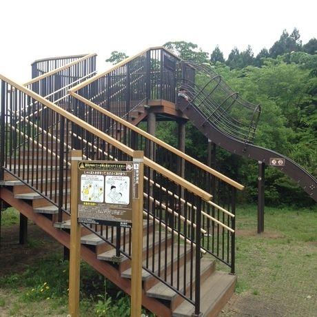 田貫湖キャンプ場の大型遊具