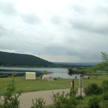 田貫湖キャンプ場のフリーサイト