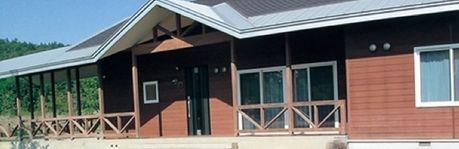 北海道立十勝エコロジーパークオートキャンプ場の入り口
