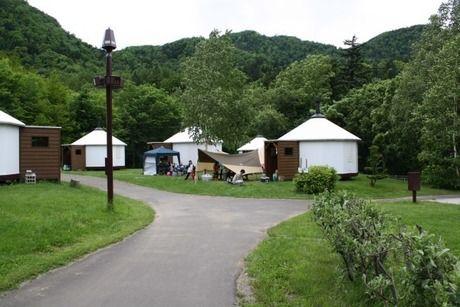 札幌市定山渓自然の村の様子