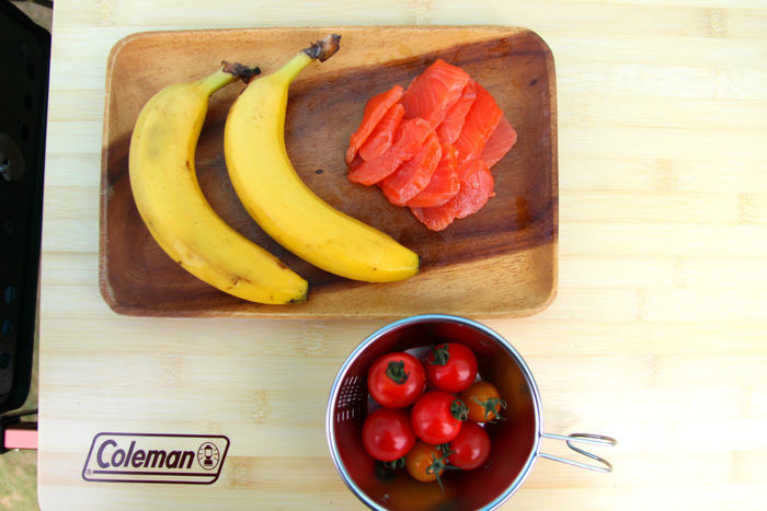 変わり種食材の時短燻製の材料