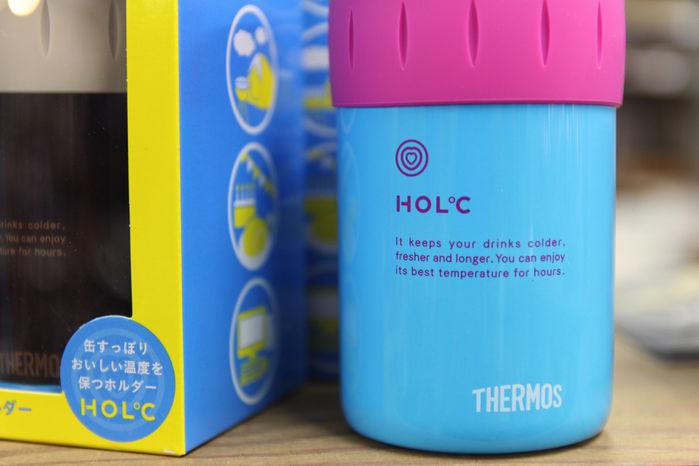 サーモスの保冷缶ホルダー