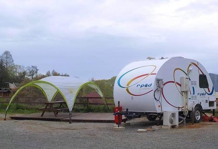 パディントンベア・キャンプグラウンドのテントサイト