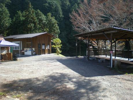 cazuキャンプ場の様子