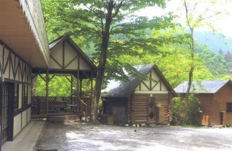 長瀞キャンプ村の様子
