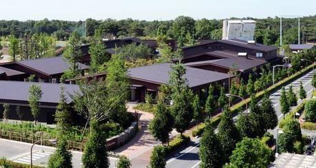 モリパーク アウトドアヴィレッジの外観