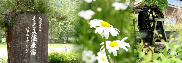 くるみ温泉&キャンプの豊かな自然