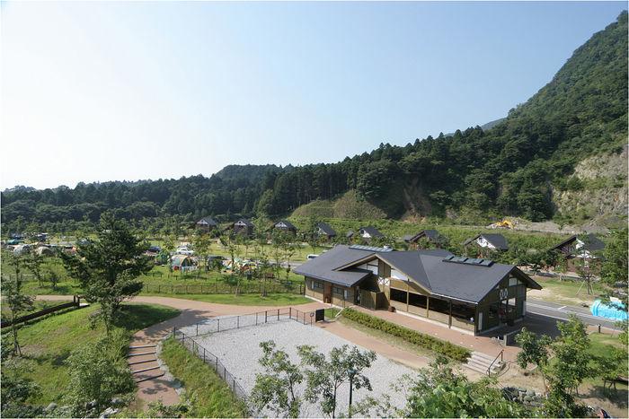 青川峡キャンピングパークの様子