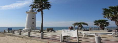 東海ビーチアウトドアキャンプ場のビーチ