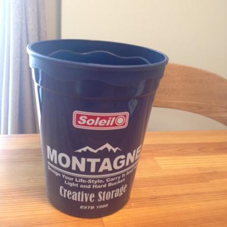 生ゴミ用のゴミ箱として使用しているカップ