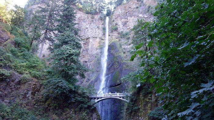 マルトノマ滝の全貌