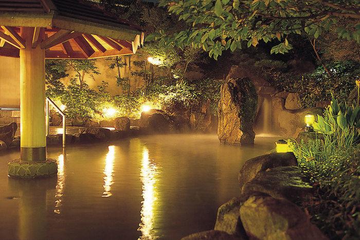 鈴鹿サーキットファミリーキャンプ場の露天風呂