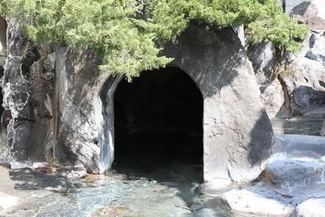 こちょうの湯にある洞窟の湯