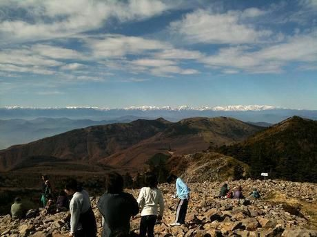 山頂からの広大な景色