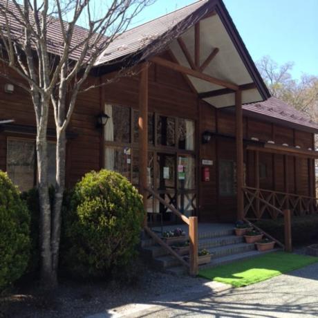 乙女森林公園第2キャンプ場の管理棟