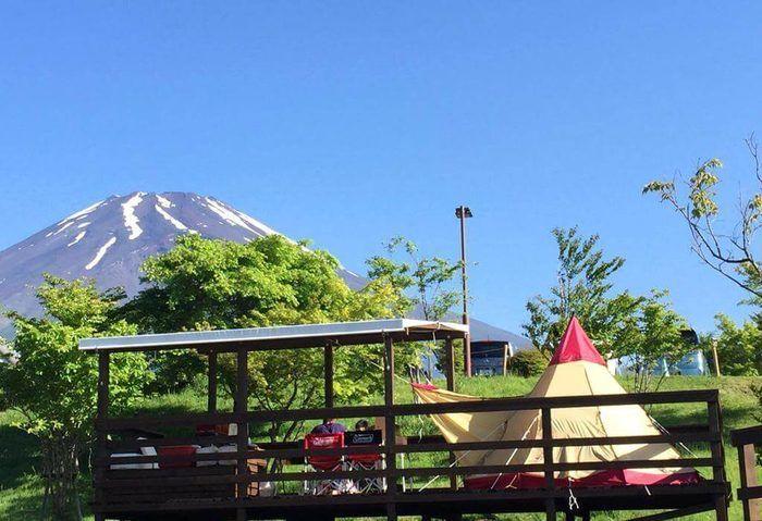 キャンピカ富士ぐりんぱのキャンプ場