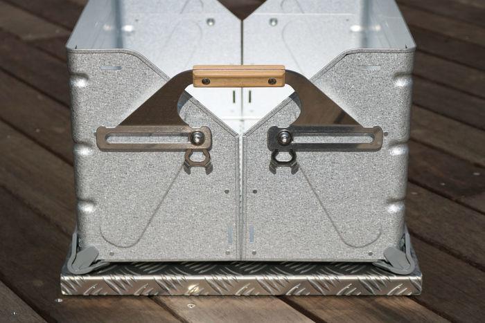 縞板天板 Vのボックス部分