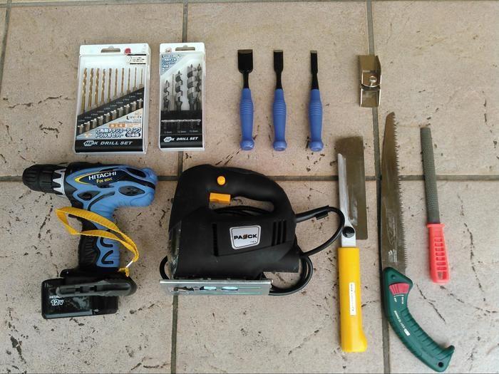 DIYに使用していうる工具一覧
