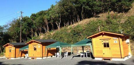 志摩きらく荘のキャンプ場