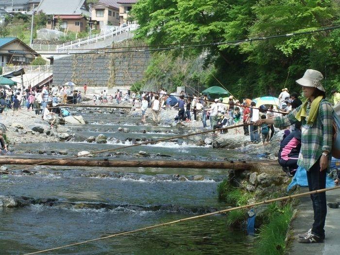 大丹波川国際虹ます釣場